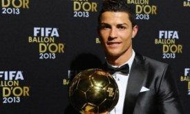 Криштиану Роналду — обладатель Золотого мяча-2013